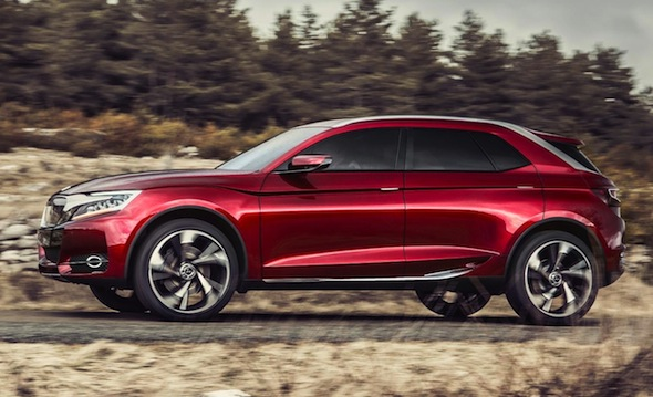 Curvy Citroen SUV destined for Europe