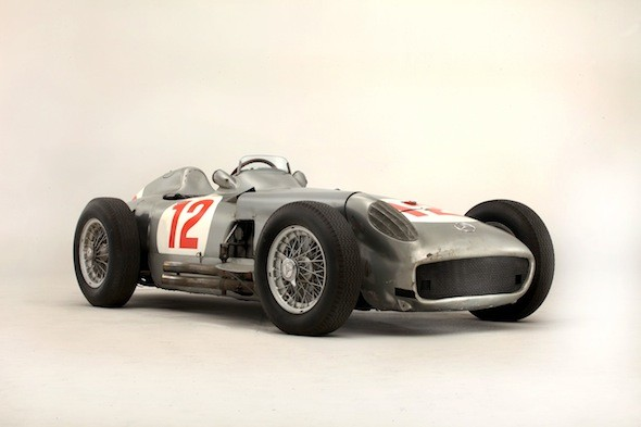 Juan Manuel Fangio's Formula 1 car sells for £17.5 million