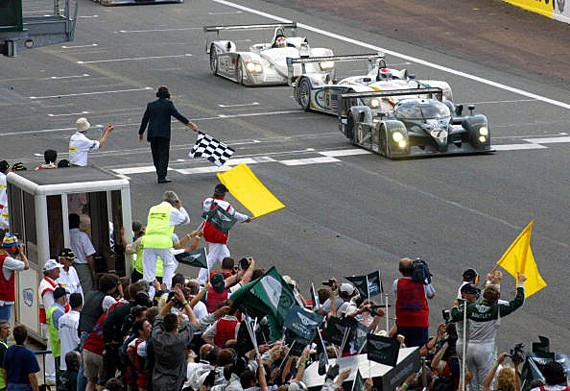 Bentley boy reunited with Le Mans winner at Goodwood
