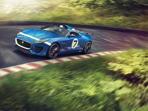 Jaguar reveals Project 7 concept for Goodwood
