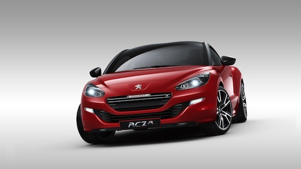Peugeot RCZ R unveiled at Goodwood Festival of Speed