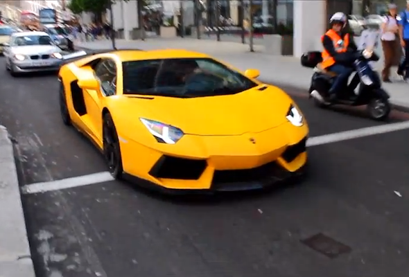 Video The Supercars Of London Aol Uk Cars