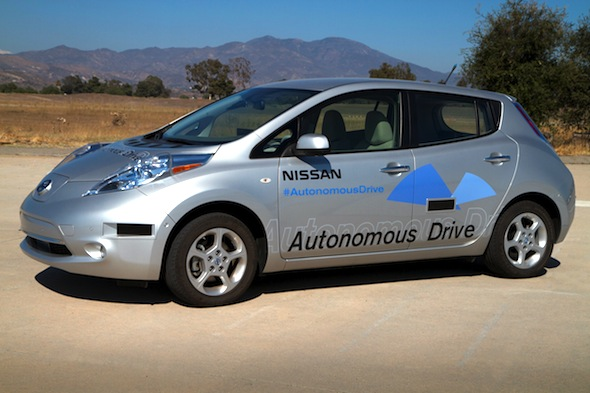 Nissan promises self-driving cars by 2020
