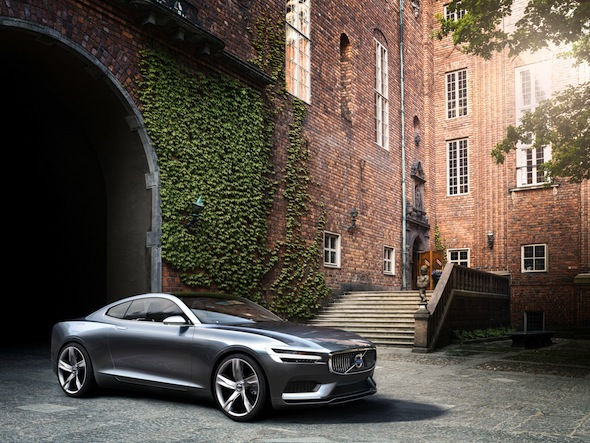 Volvo stuns with glorious 395bhp Coupe Concept