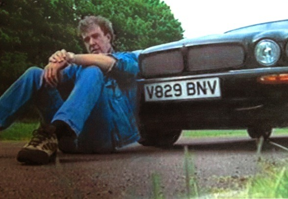 Clarkson's Jaguar goes under the hammer