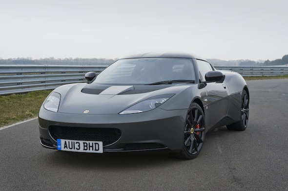 First drive: Lotus Evora S Sports Racer