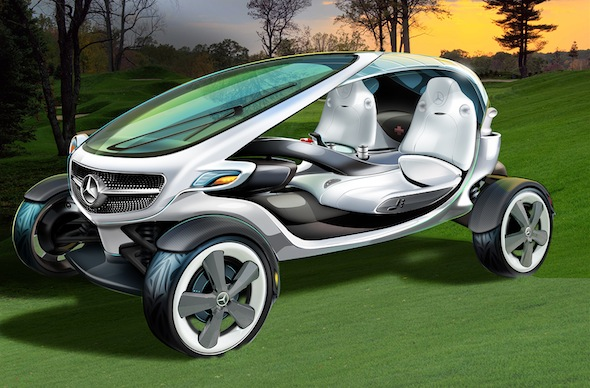 Mercedes unveils its vision for golf carts of the future
