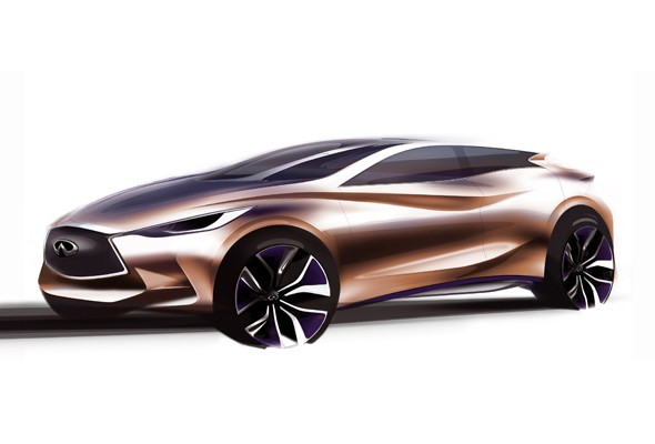 Infiniti to unveil Q30 Concept at Frankfurt