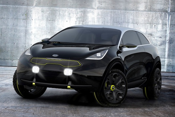 Kia pushes the SUV boat out with crazy Niro concept