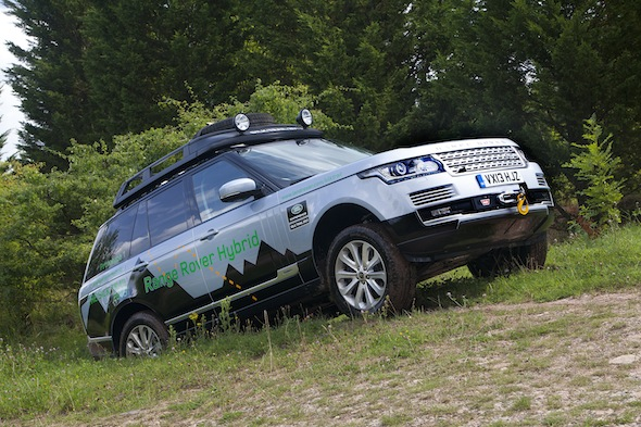 Land Rover reveals its first hybrid Range Rover models
