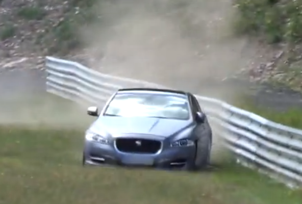 Nurburgring taxi comes a cropper on the Nordschleife