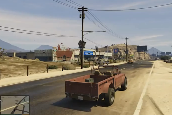 Say goodbye to your life, Grand Theft Auto V preview released!
