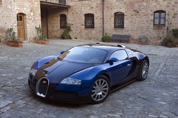 Bugatti Veyron now available for hire