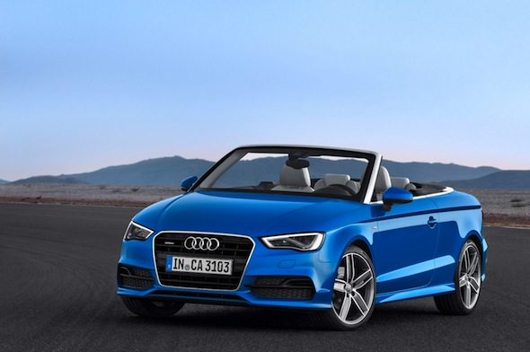 Audi A3 Cabriolet unveiled at Frankfurt motor show