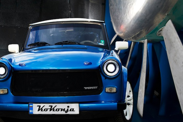 Video: Trabant receives 220bhp engine transplant