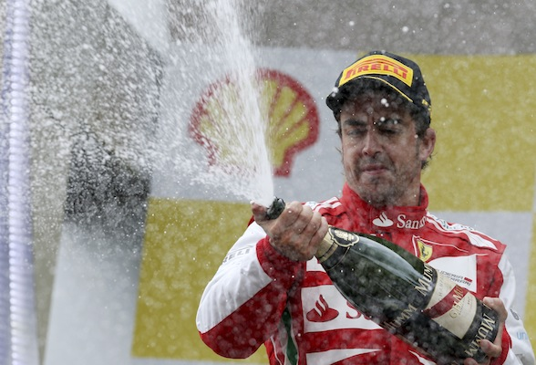 Fernando Alonso is best-paid driver in motorsport