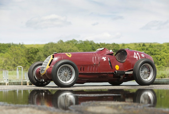 Pre-war Alfa Romeo GP car sells for £5.9million