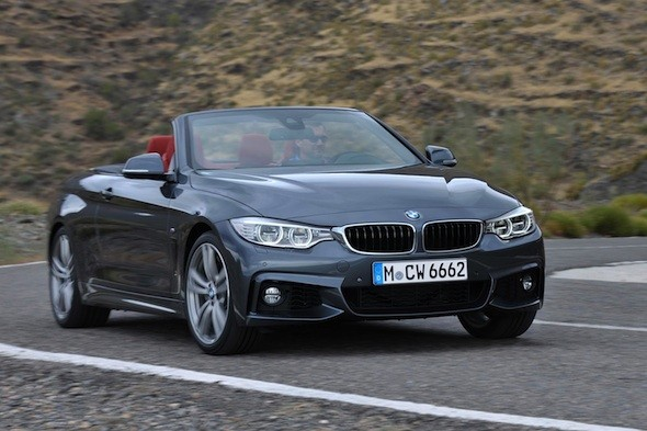 BMW reveals 4 Series Convertible