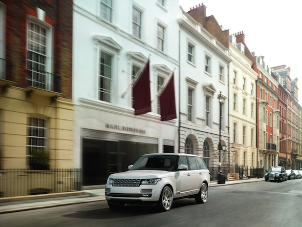 Land Rover unveils luxurious long-wheelbase Range Rover