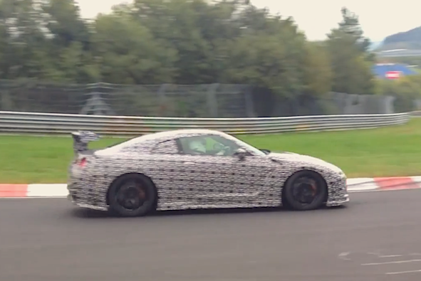 Nissan GT-R Nismo spied attempting to set new Nurburgring record