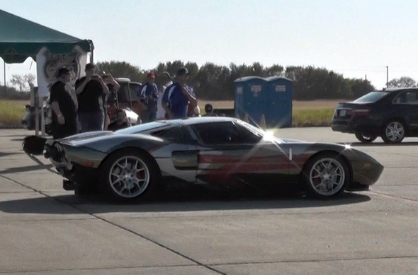 Video: Insane Ford GT hits 278mph in a mile