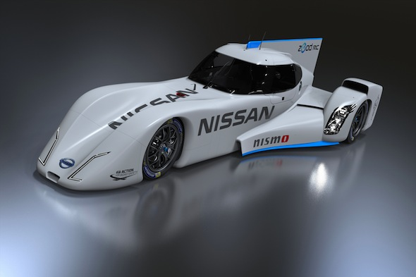 Nissan's hybrid Le Mans racer officially showcased in Japan