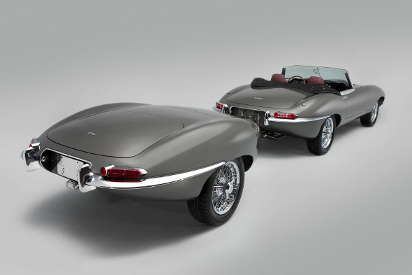 ​World's first stretched Jaguar E-Type takes a bow