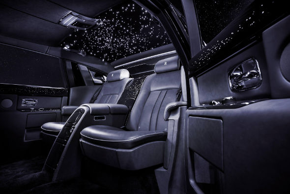 ​Rolls-Royce reveals diamond-encrusted Celestial Phantom