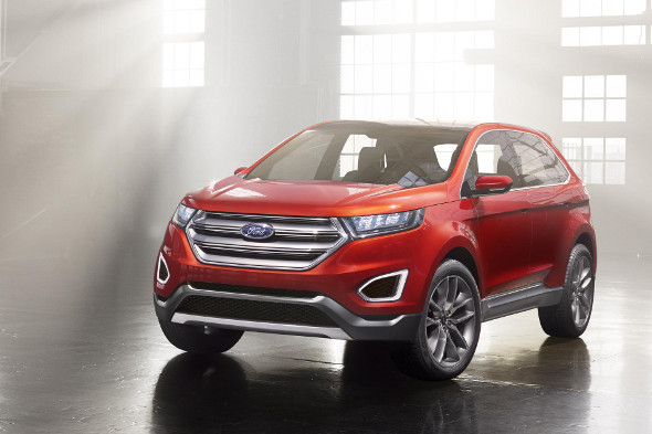 Ford Edge Concept previews new full-size 4x4 - AOL