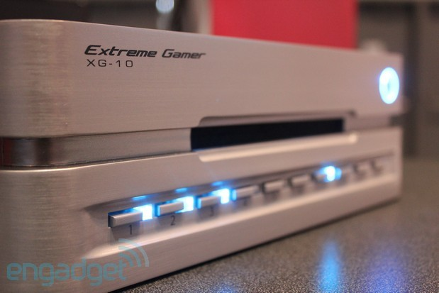 Exeo Entertainment Extreme Gamer XG 10 换碟机现身 E3,Xbox 360、PS3、Wii 通用