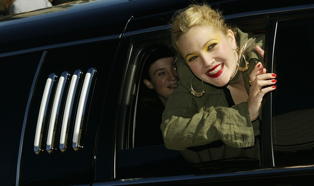 Drew Barrymore first to race Ford Focus EV on Leno's new show