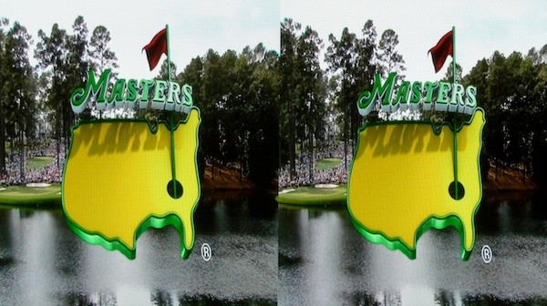 Side by Side 3D of the Masters