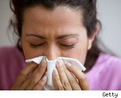 Hay fever misery for millions of Brits
