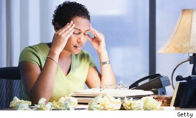 women workplace stress