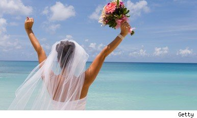 More couples getting married abroad