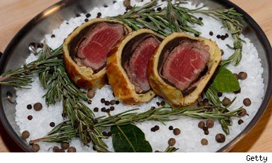Beef wellington was one of the dishes on the most difficult list