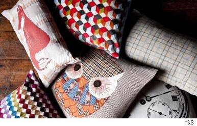 Cushions from M&S