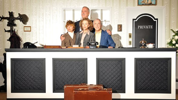 The cast of Fawlty Towers reunited in 2009