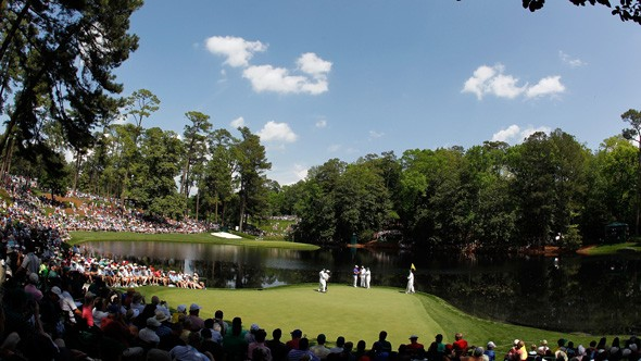Golf US Masters 2013
