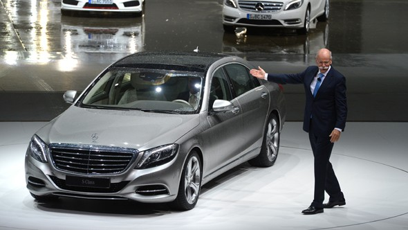 New Mercedes S-Class unveiled in Germany