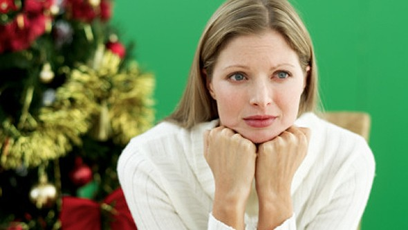 Christmas stress hits divorced Brits