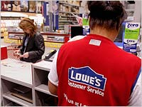 lowes job