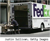 fedex home delivery driver