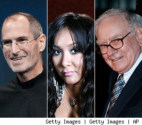 Jobs, Buffett, and Snooki