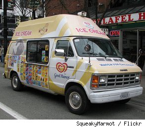 ice cream truck driver pay