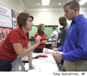 college career fair impress recruiters