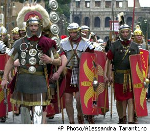 Gladiator Impersonators
