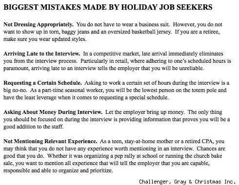 1 in 5 Americans Plans On Finding A Second Job For The Holidays