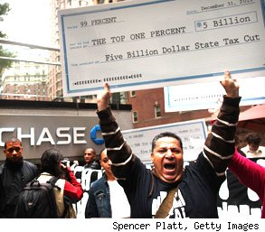 Occupy Wall Street one percent