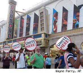 Atlantic City casino union pact